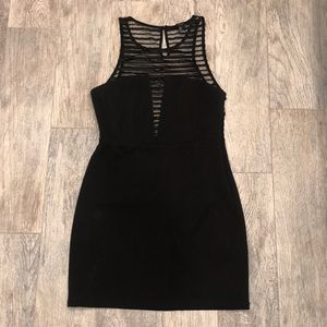 Cute Black Dress from Forever21